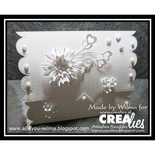Crealies und CraftEmotions Stamping template, border