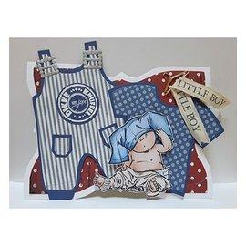 Dutch DooBaDoo A5 template type kaart, kleren Pub