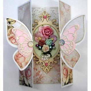 Dutch DooBaDoo A4 Schablone, Card Art Butterfly