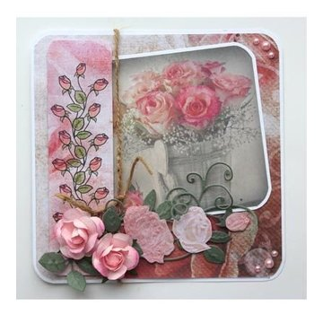 Joy!Crafts / Jeanine´s Art, Hobby Solutions Dies /  stampi di taglio: 3D Rosa