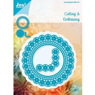 Joy!Crafts / Jeanine´s Art, Hobby Solutions Dies /  Ponsen sjabloon: cirkel en de hoek