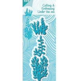 Joy!Crafts / Jeanine´s Art, Hobby Solutions Dies /  modèle de poinçonnage: sous-marine, corail
