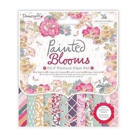 Crafter's Companion Designersblock, geschilderde bloemen