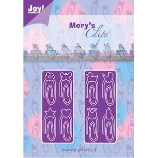 Joy!Crafts / Jeanine´s Art, Hobby Solutions Dies /  Stansning skabelon: Papir Clips Baby Neutraal