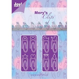 Joy!Crafts / Jeanine´s Art, Hobby Solutions Dies /  Stanzschablone: Paperclips Baby-Neutraal