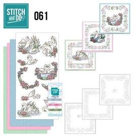 BASTELSETS / CRAFT KITS set di carte d'arte adesivo