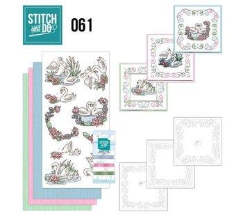 BASTELSETS / CRAFT KITS Card sets with sticker art