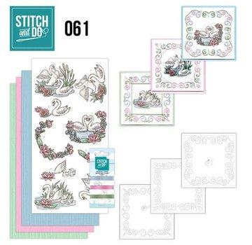 BASTELSETS / CRAFT KITS Card sæt mærkat kunst