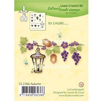 Leane Creatief - Lea'bilities und By Lene Transparent stamp: Autom