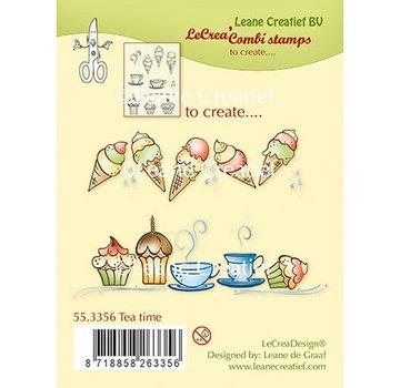 Leane Creatief - Lea'bilities und By Lene Gennemsigtig Stempel: Tea Time
