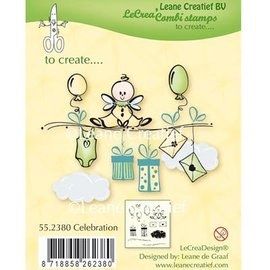 Leane Creatief - Lea'bilities und By Lene Sello transparente: Celebración