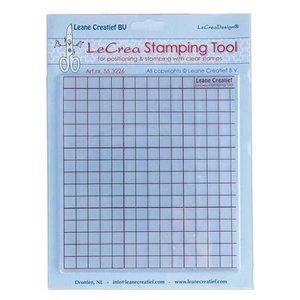 Leane Creatief - Lea'bilities und By Lene Stamping Tool für transparente Stempel
