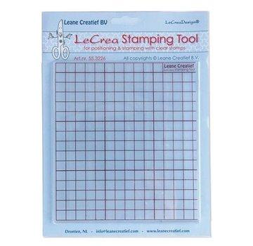 Leane Creatief - Lea'bilities und By Lene utensile di stampaggio per timbri trasparenti