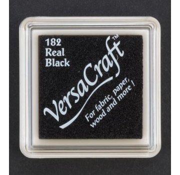FARBE / STEMPELKISSEN tampone di inchiostro, 33 x 33 mm, nero