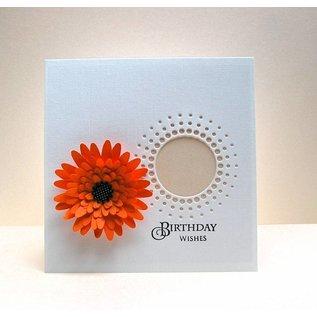 Docrafts / X-Cut Stanzschablonen Dekorativ, Herrliche Blumen- die LETZTE Schablonen!
