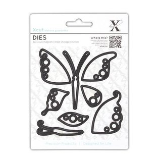 Docrafts / X-Cut Cutting dies: Butterfly