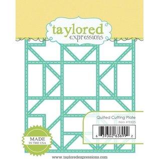 Taylored Expressions Ponsen sjabloon: gewatteerde frame van