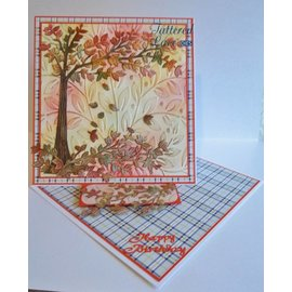 Tattered Lace Ponsen sjabloon: Cherry Tree