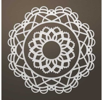 CREATIVE EXPRESSIONS und COUTURE CREATIONS Stanzschablone: Filigranes doily SET - only 1 in stock!