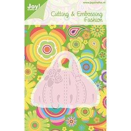 Joy!Crafts / Jeanine´s Art, Hobby Solutions Dies /  Ponsen sjabloon: handtas, slechts 1 op voorraad