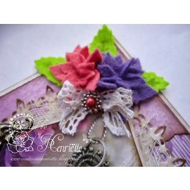 Joy!Crafts / Jeanine´s Art, Hobby Solutions Dies /  Stanzschablone: 4 Blumen mit 6 Blütenblätter