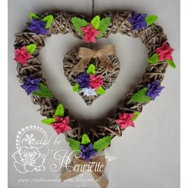 Joy!Crafts / Jeanine´s Art, Hobby Solutions Dies /  modèle POINTAGE: 4 feuilles