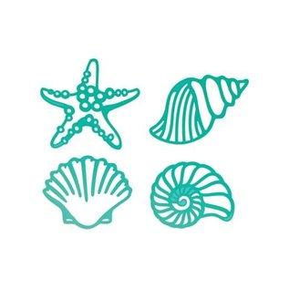 CREATIVE EXPRESSIONS und COUTURE CREATIONS Ponsen sjabloon: mosselen