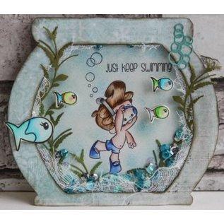 Joy!Crafts / Jeanine´s Art, Hobby Solutions Dies /  Ponsen sjabloon: Algen en bellen