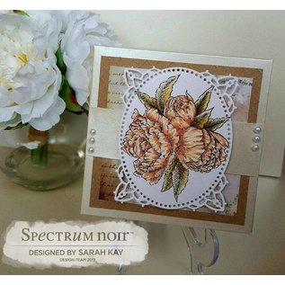 Crafter's Companion Rubber zegel: Beautiful Rose