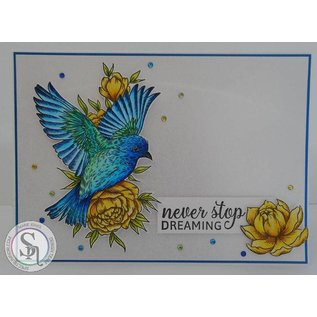 Crafter's Companion Rubber stamp: Little Birdie