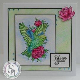 Crafter's Companion Sello de goma: littlebirdie