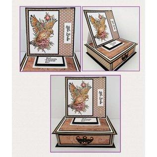 Crafter's Companion Rubber zegel: littlebirdie
