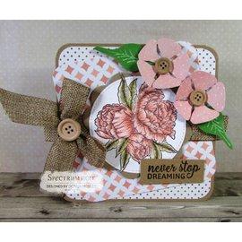 Crafter's Companion Timbro di gomma: Bella Rosa