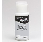 DecoArt media Fluid acrylics, Titanium White
