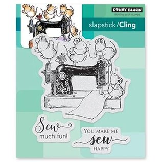 Penny Black naaien fun: Rubber Stamp