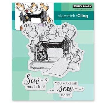 Penny Black cucire divertente: timbro di gomma