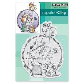 Penny Black Rubber Stamp: Stitch In Time