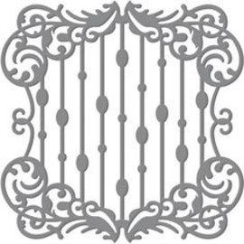 Tonic Studio´s Taglio e goffratura stencil: Cascata Telaio