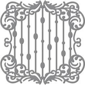 Tonic Studio´s Snijden en embossingstencils: Waterval Frame