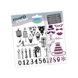 ALADINE ALADINE, stamp SET