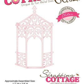Cottage Cutz Stamping template: Victorian pergola