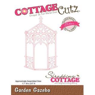 Cottage Cutz Stamping template: Victorian pergola
