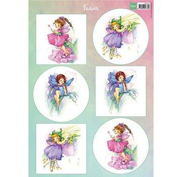 Bilder, 3D Bilder und ausgestanzte Teile usw... A4 ark af billeder: Fairies