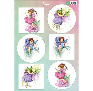 Bilder, 3D Bilder und ausgestanzte Teile usw... A4 Pictures: Fairies