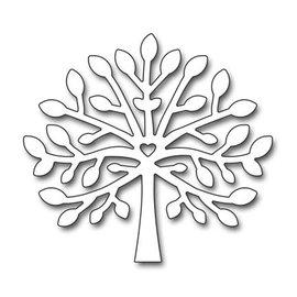 Penny Black plantilla de perforación: árbol joven