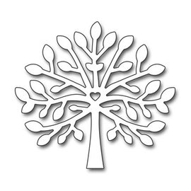 Penny Black Stamping template: tree