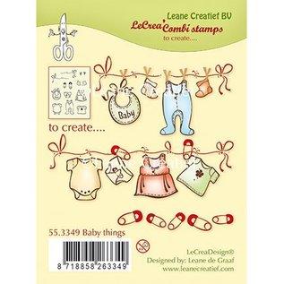 Leane Creatief - Lea'bilities und By Lene Transparant stempel: Baby
