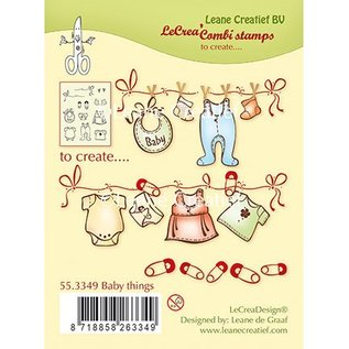 Leane Creatief - Lea'bilities und By Lene Transparent stamp: baby