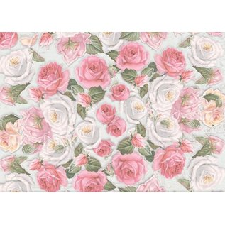 REDDY Nieuw: 9 boog van bloemen gesorteerd, A3