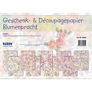 REDDY Nyt: 9 bue af blomster sorteres, A3
